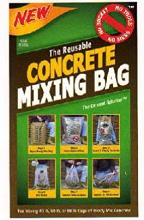 The Cement Solution Concrete Mixing Bag 80 Lbs  - Power