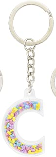 Disney Parks Mickey Mouse Bead Letter C Initial Keychain