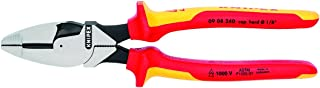 Knipex 09 08 240 US 9.5-Inch Insulated Ultra-High Leverage Lineman's Pliers