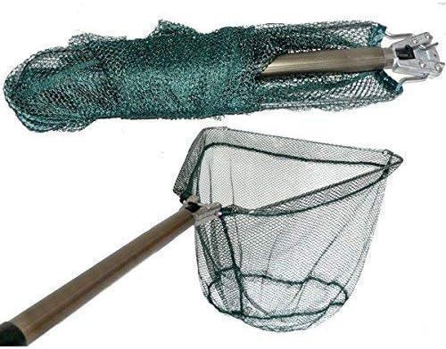 Faltbar Fischnetz Käfig Fischkescher Fischfangnetz Angelnetz Fishing Netz