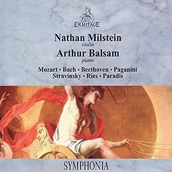 Nathan Milstein - Arthur Balsam