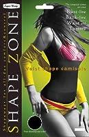 Shape Zone(シェイプゾーン) ウエストシェイプキャミソール ブラック LL-3L