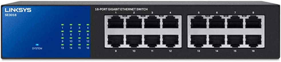 Linksys 16-Port Gigabit Switch (SE3016)