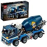 LEGO 42112 Technic Camión Hormigonera con Cuba Mezcladora Giratoria, Juguete de Construcción para Niños +10 años