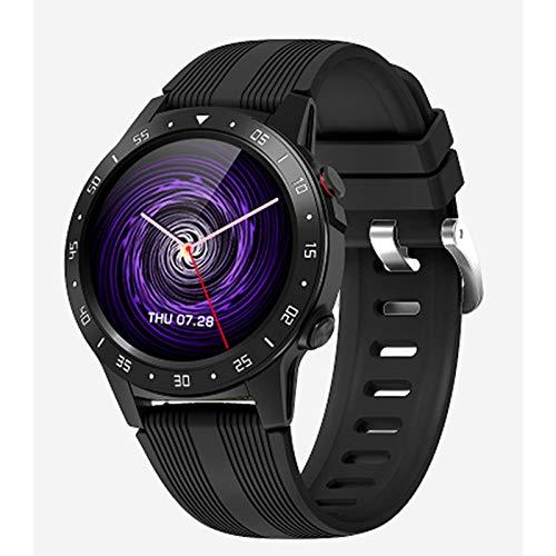 Smartwatch Hombres GPS M5S con Tarjeta SIM Tarjeta De Barómetro De Barómetro Al Aire Libre Reloj Inteligente Deportivo para Android iOS,A