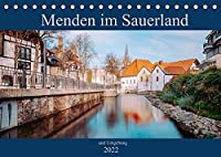 Menden im Sauerland und Umgebung (Tischkalender 2022 DIN A5 quer): Fotografien von Menden im Sauerland (Monatskalender, 14 Seiten )