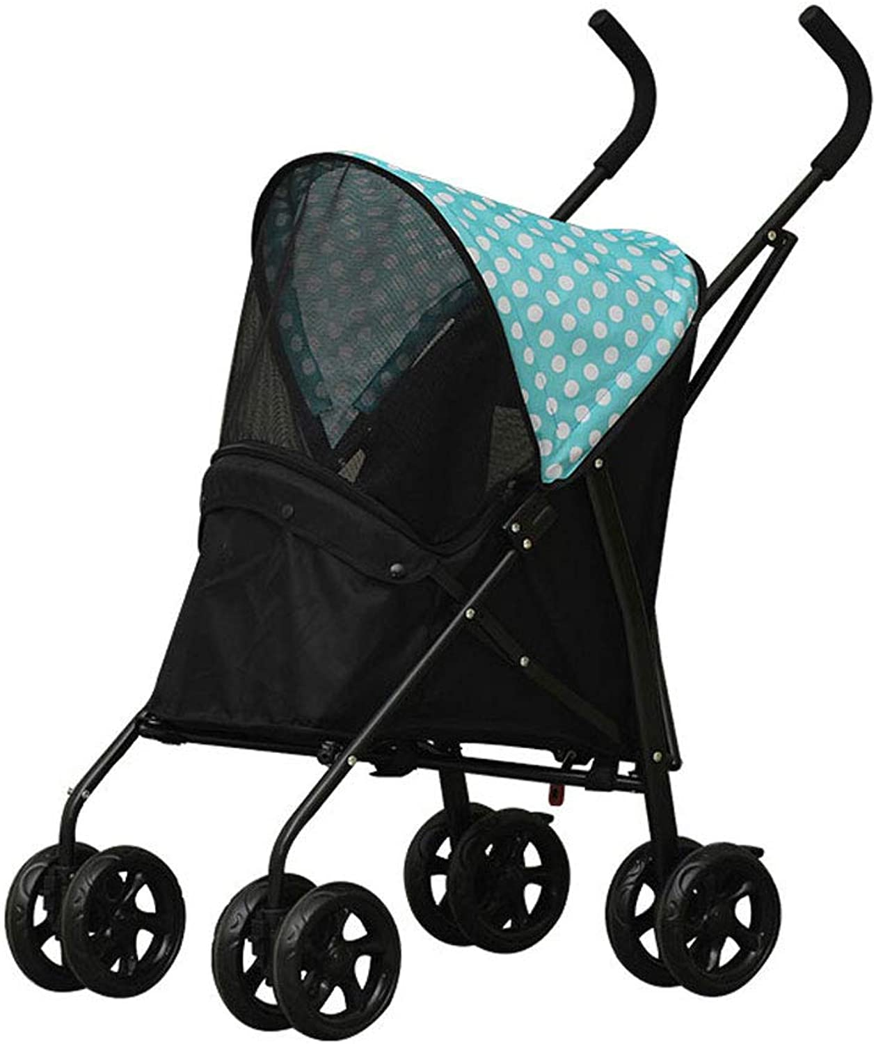 NYJ Pet Travel Stroller Cat Dog Pushchair Trolley Puppy Jogger Carrier