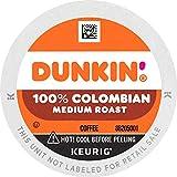 Dunkin' 100% Colombian Medium Roast Coffee, 60 K Cups for Keurig Coffee Makers (Packaging May Vary)