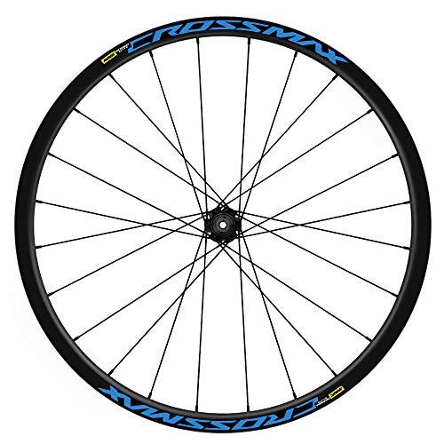 Pegatinas Llantas Bicicleta 29' Mavic Crossmax Elite TL WH19 VINILOS Ruedas Azul 517