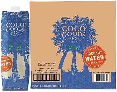 CocoGoods Co Vietnam Single Origin 100 Natural Coconut Water Non GMO Never from Concentrate product image