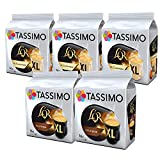Tassimo Coffee L'OR XL Bundle Cápsulas de Café - L'OR Classique XL & Intense XL - 5 Paquetes (80 Porciones)