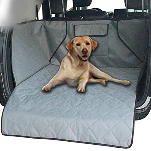 Iswell Car Boot Liner Protector Universal Waterproof Dog Cargo Cover Mat Asiento Trasero Grande Cover Protector Lavable Durable Pet Cargo Liner Waterproof Auto Mat Dogs Cover