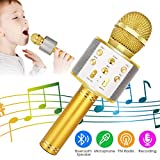 Best Karaoke Microphones - Wireless Bluetooth Karaoke Microphone, 5-in-1 Portable Handheld Karaoke Review