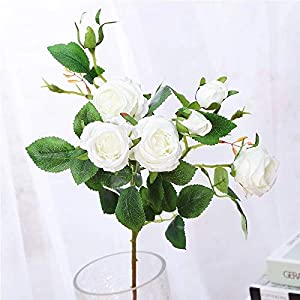 Artificial and Dried Flower 7 Small Hibiscus RosesHome Decoration Artificial Flowers Wedding Backgro Wall Holding Flowers Fake Flowers Flower Wall