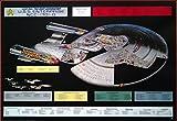 Close_up Star Trek: USS Enterprise NCC-1701-D, Cutaway   US