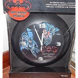 Westclox Batman & Robin Quartz Wall Clock