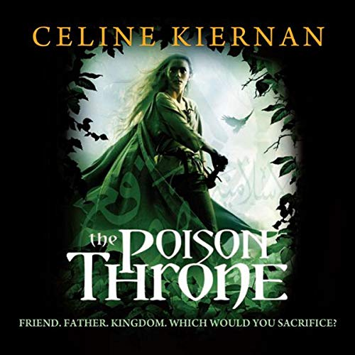 The Poison Throne audiobook cover art