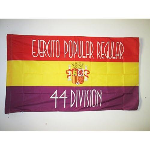 AZ FLAG Bandera del 44 Division EJÉRCITO DE LA REPÚBLICA ESPAÑOLA ...