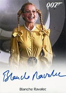James Bond Archives 2016 Autograph Card Blanche Ravalec as Dolly