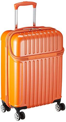 [アクタス] スーツケース ジッパー トップオープン トップス 機内持ち込み 74-20310 33L 53.5 cm 3.2kg オレンジカーボン