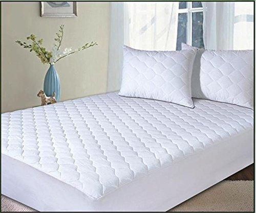 Topper Silentnight Anti-Allergy,Mattress Protector Plus, White, Single,Double,king, pillow protectors Anti - Bacterial Mattress protectors (white, DOUBLE)