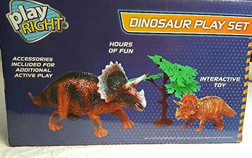 先史時代の単位ところでPlay Right サイノサウルス 恐竜プレイセット