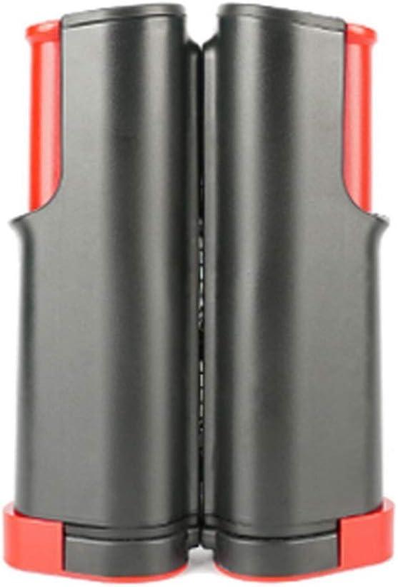 QWEEF Redes de Tenis Juego de Ping-Pong Pinggong Raqueta Red Set para el Entrenamiento de Tenis de Mesa Fútbol (Color : Black, Size : One Szie)