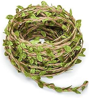 66 Feet Artificial Vine Fake Foliage Leaf Plant Garland Rustic Jungle Vines Wedding Home Decor