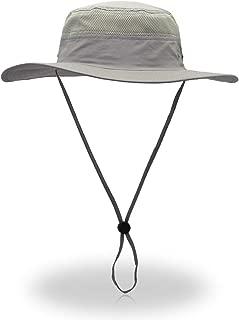 Duakrs Unisex Wide Brim Sun Hat,Outdoor UPF 50+ Waterproof Fishing Hat Boonie Hat Summer UV Protection Sun Caps
