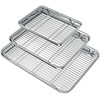 Best baking pans with rack Reviews