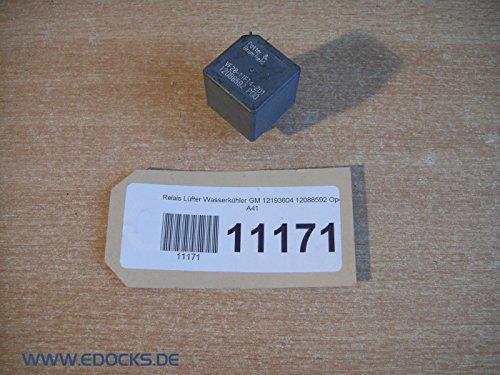 Relé Ventilador refrigerador de agua GM 12193604 12088592 Opel