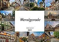 Wernigerode Impressionen (Tischkalender 2022 DIN A5 quer): Die bunte Stadt im Harz (Monatskalender, 14 Seiten )
