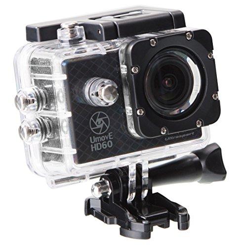 Ultrasport UmovE HD60 - Cámara de acción, color negro, Ready, incluye tarjeta...