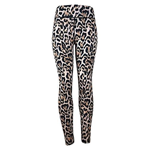 VJGOAL Moda Casual Las Mujeres Cintura Alta Sexy Leopardo