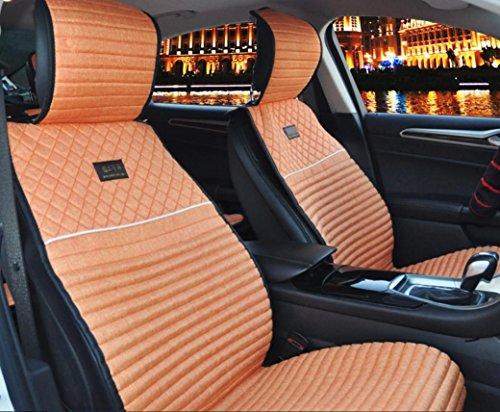 AMYMGLL Tout-en-un universel de voiture Coussin Set linge de luxe (8SET) Édition générale Coussin Car Cover Four Seasons Universal 5 Options couleur , 1