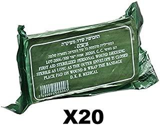 Pack of 20 IDF Israeli Army Dressing/Bandage by Dakar …