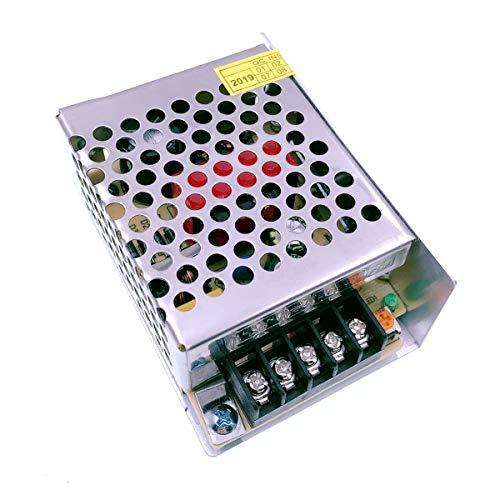 JZK Transformador Interruptor AC 110V - 220V a DC 24V 2A Transformador de Voltage Alimentación para Tira de LED Impresora 3D