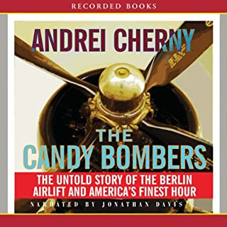 Candy Bombers audiobook cover art