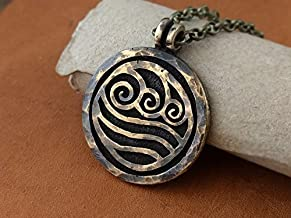 Avatar Last Airbender Water Tribe Nation Necklace Pendant Jewelry Element