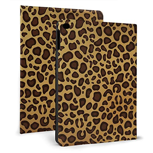 Case Ipad 9.7 Inch 2017/2018 (Mini4/5) - Soft Leather Stand Folio Case Cover For Ipad 7.9 Inch, With Multiple Viewing Angles, Auto Sleep/Wake, Leopard Print Tan Natural Animal Cheetah Safari-3