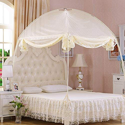 ZHXDXF Anti Mosquito Nets Pop up Mosquito Net Bed Tent with Bottom Mosquito s Folding Portable for Baby Toddlers Kids Adult Washable Mesh / 150200cm