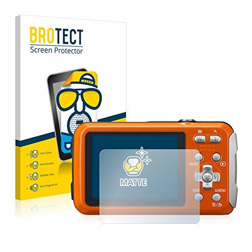 BROTECT 2X Entspiegelungs-Schutzfolie kompatibel mit Panasonic Lumix DMC-FT30 Displayschutz-Folie Matt, Anti-Reflex, Anti-Fingerprint