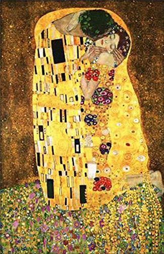 cooldeerydm voldiamantborduurwerk kruissteek mozaïekpasta schilderij wanddecoratie schilderij handwerk liefhebbers kus diamantborduurwerk ronde diamant 60 cm * 80 cm diamanttekening Huzi
