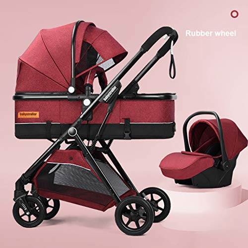 Purchase FYJK Convertible Stroller Bassinet - Baby Bassinet Stroller - Newborn Carriage Stroller - L...