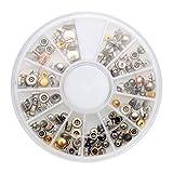 ZOYOSI 200 piezas coronas de repuesto para reloj, herramienta de junta de tubo variada, compatible con relojero con caja