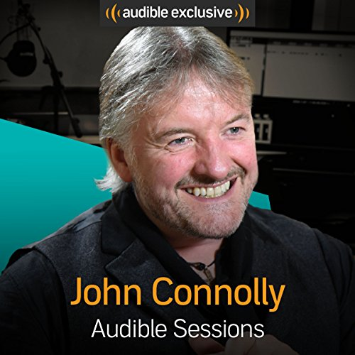 John Connolly audiobook cover art
