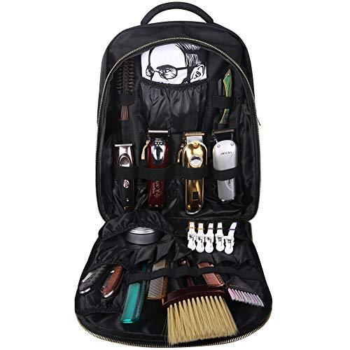 ZHYJJ Mochila de barbero portátil-Estuche de Viaje de Estilista de Pelo, Bolsa de Herramientas de Maquillaje Mochila de Viaje multifunción Organizador de cosméticos Caja de Almacenamiento