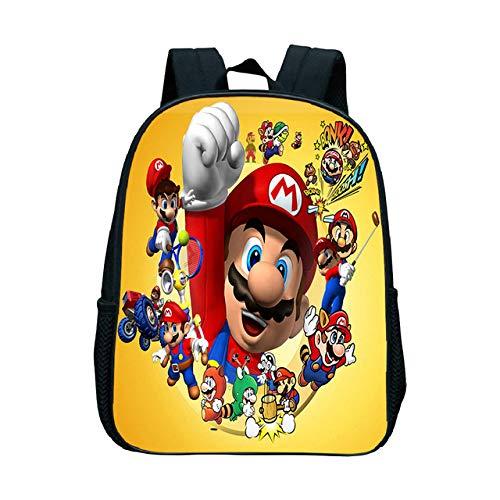 MIAOGOU Super Mario Backpack Back to School Gift for Children New Mochila for Kindergarten Boys Girls School Book Bags