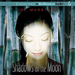 Shadows on the Moon audiobook cover art