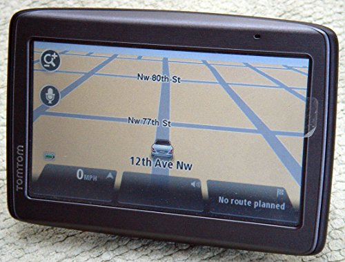 """TomTom VIA 1530TM 5"""" Touchscreen Portable Bluetooth GPS Navigation System w/USA & Canada Maps & Voice Recognition"""